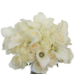 Rose and Calla Bridal Flowers