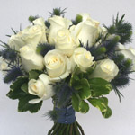 Simple Elegance - Roses and Eryngium