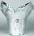 Mylar Cover for 4 inch Pots - Silver
