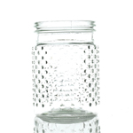 Hobnail Jar - 4 in x 5 3/4 in