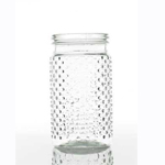 Hobnail Jar - 4 in x 8 in